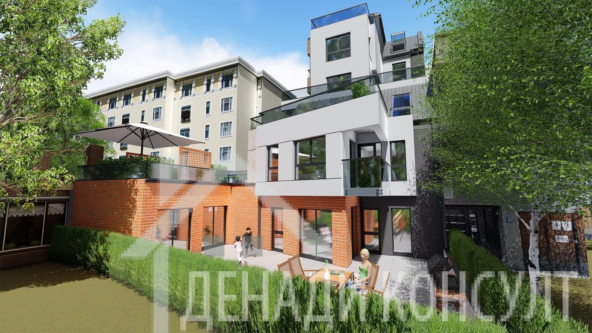 Тристайни апартаменти в Оборище
