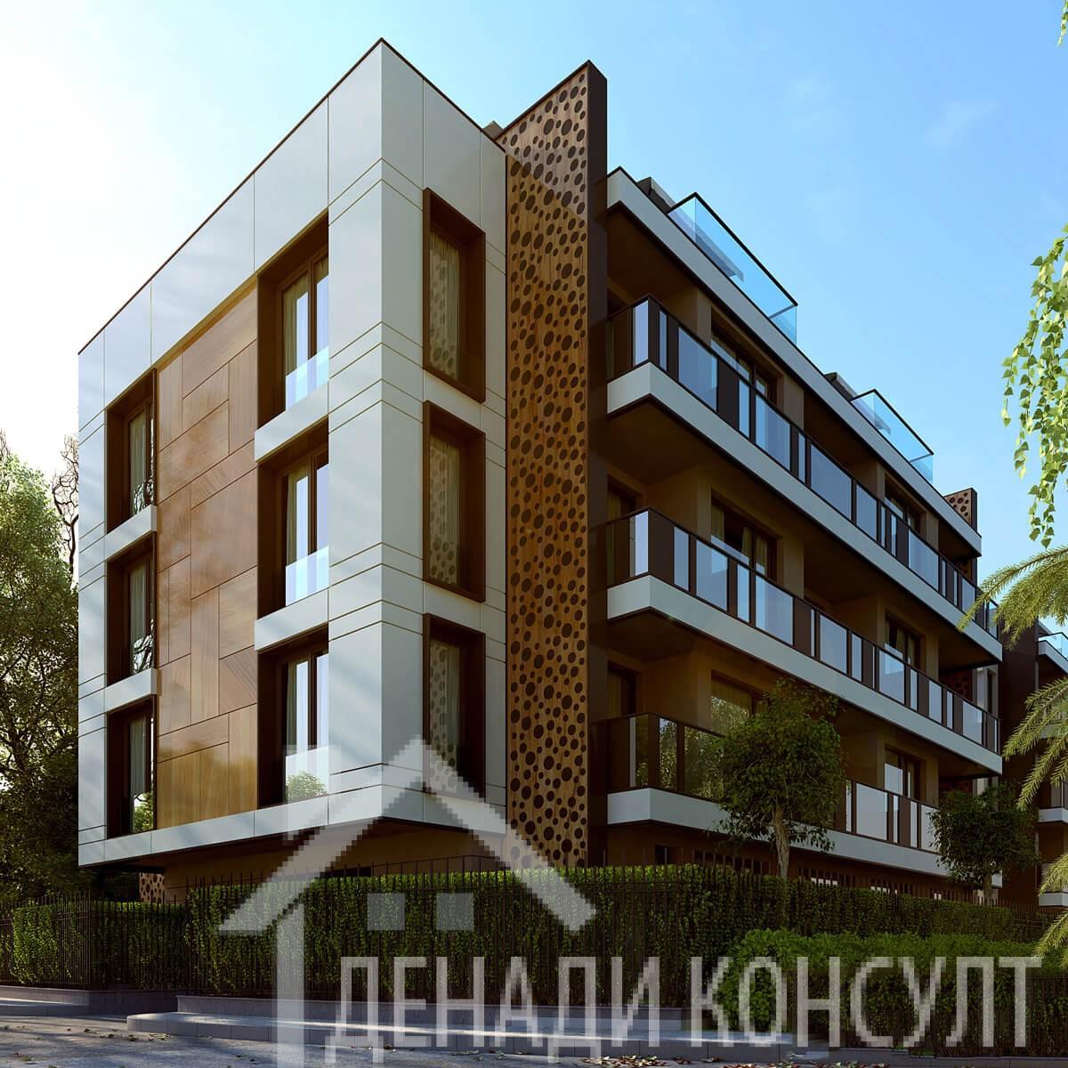 Двустаен апартамент в бутикова сграда ПРОДАДЕН
